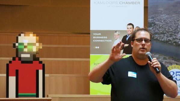 Kamloops Speaking Photo